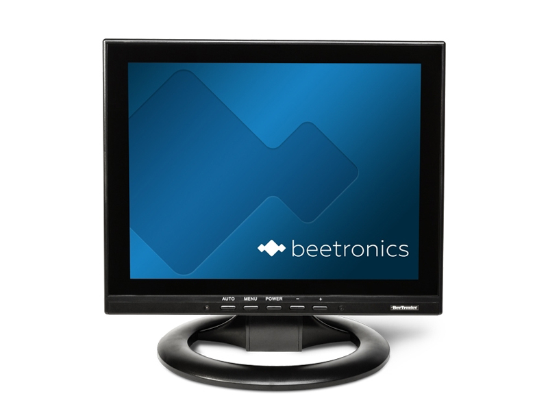 12 inch monitor with 4 3 display beetronics. Black Bedroom Furniture Sets. Home Design Ideas